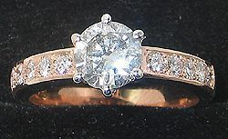 18ct-rose-gold-Diamond-engagement-ring